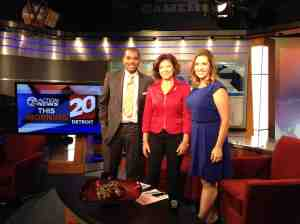 Debbie Merion From Essay Coaching (essaycoaching.com) talks about College application essays on WXYZ-TV Sept 22, 2014